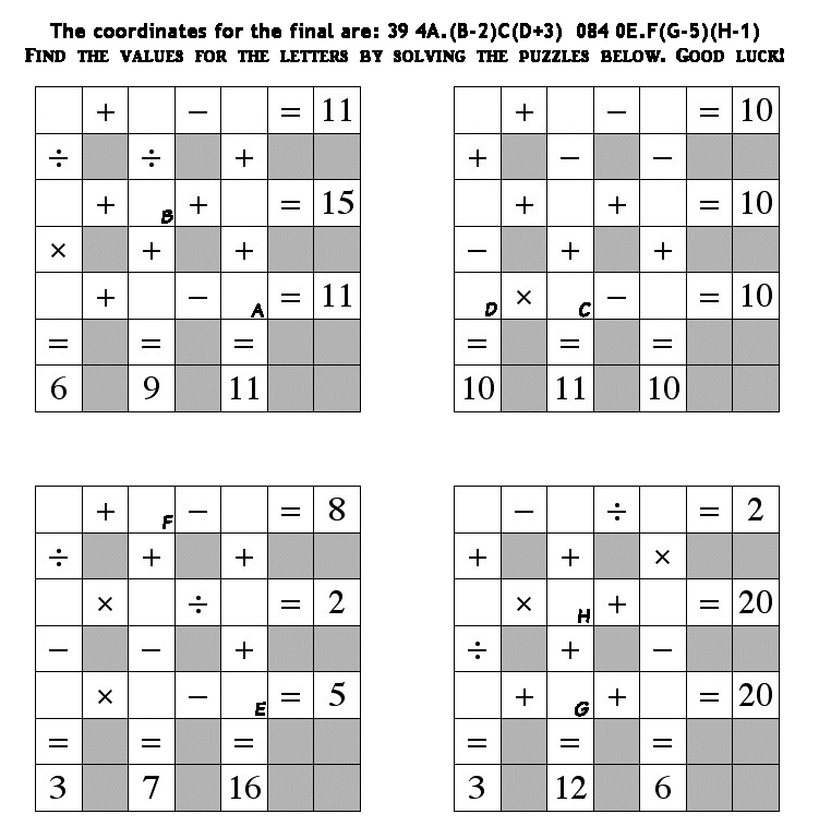 GC6HFZK Math Squares Conundrum - Scared of Squares (Unknown Cache ...